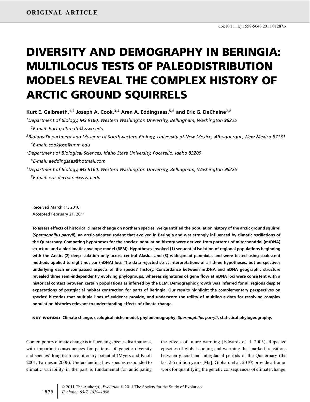 Galbreath_etal_2011_Diversity_and_demography_in_Beringia_multilocus_test_reveal_complex_history_of_arctic_ground_squirrels.pdf